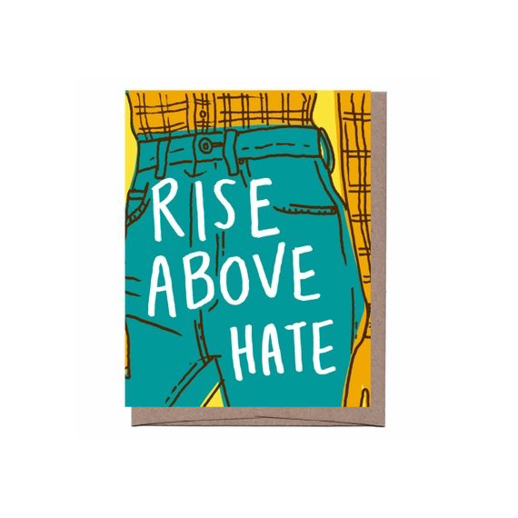 Rise Above Hate Card