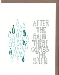 After the Rain Card