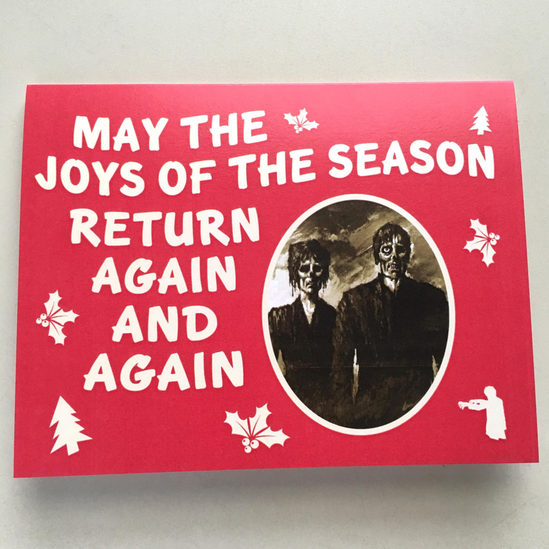 Holiday Zombie Card