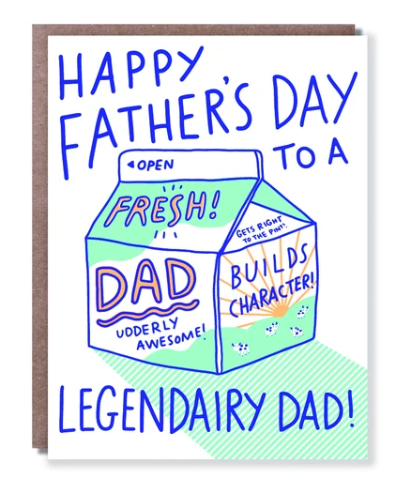 Legendairy Dad Father's Day Card