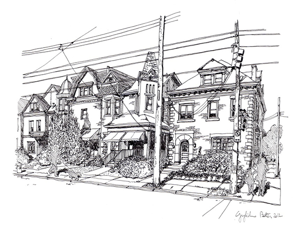 Shadyside, South Negley Avenue, Walnut Street Card