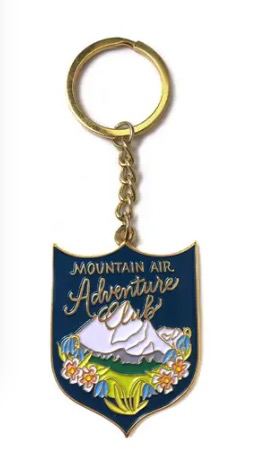 Mountain Adventure Keychain