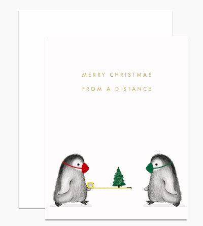Christmas From a Distance Card