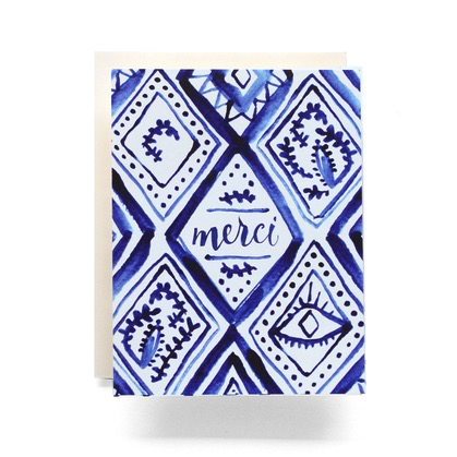 Indigo Merci Card (Thank You)