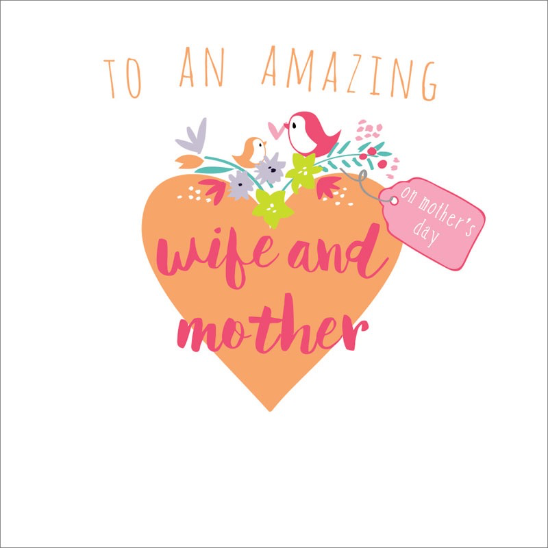 Wife and Mother Card