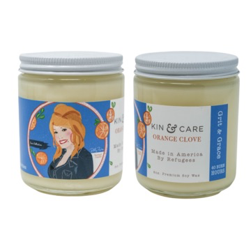 Icon Collection Jar Candles: Dolly Parton/Orange Clove
