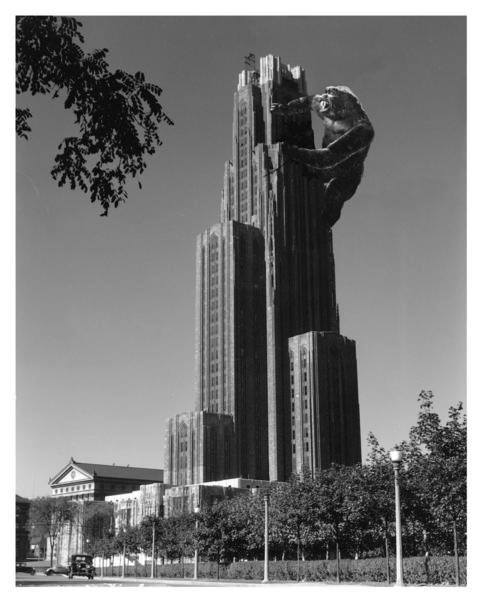 Cathedral of Learning 8 x 10 Pittsburgh print