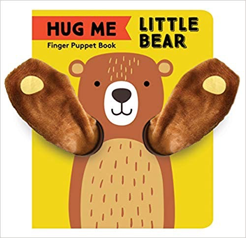 Hug Me Little Bear Finger Puppet Book