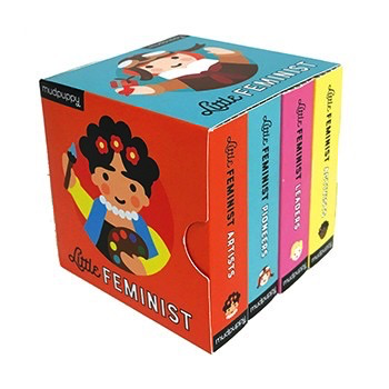 Little Feminist Mini Board Book Set