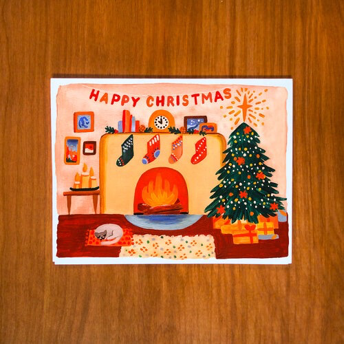 Happy Christmas Box Card