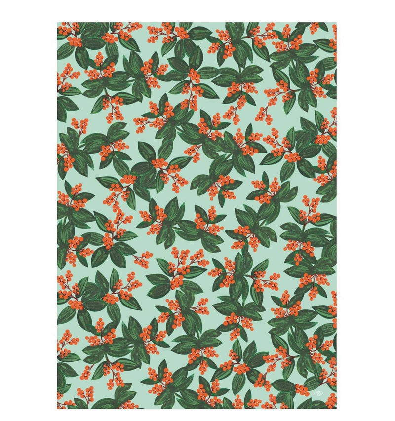 Winterberries Wrap Paper Sheet (pick up only)