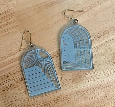 Water Portal Earrings