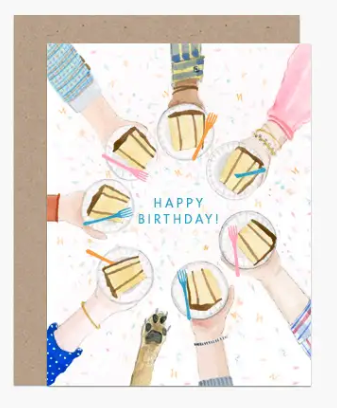 Cake Circle Birthday Card