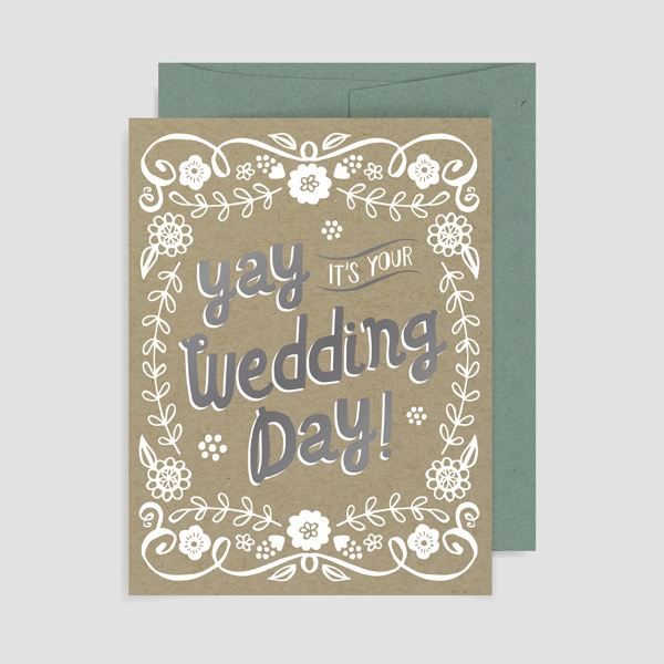 Allison Cole - Yay Wedding Day Card