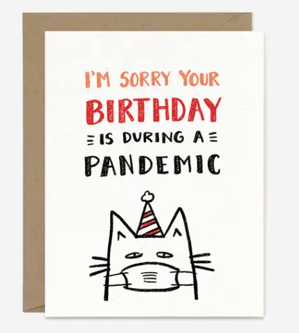 Birthday Pandemic Card