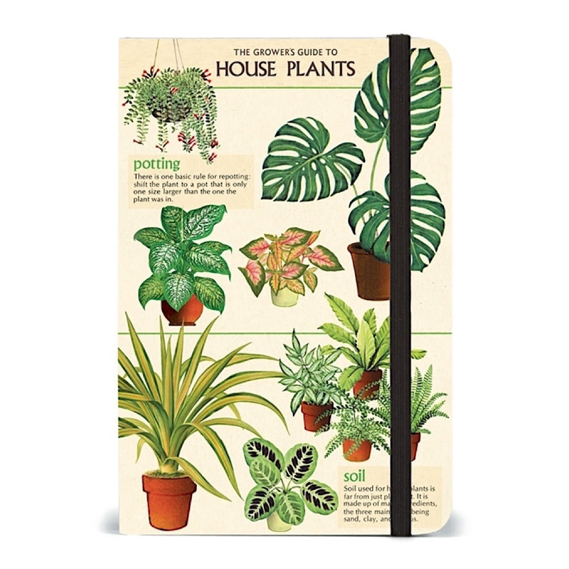 Vintage House Plants Notebook