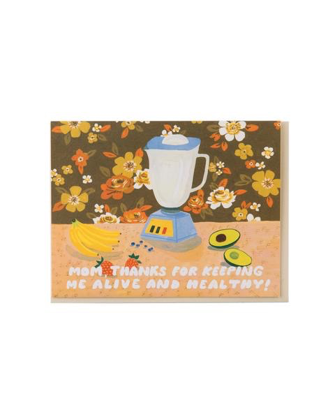 Healthy Mother's Day Card