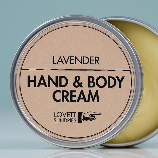 Hand & Body Cream (Lavender)