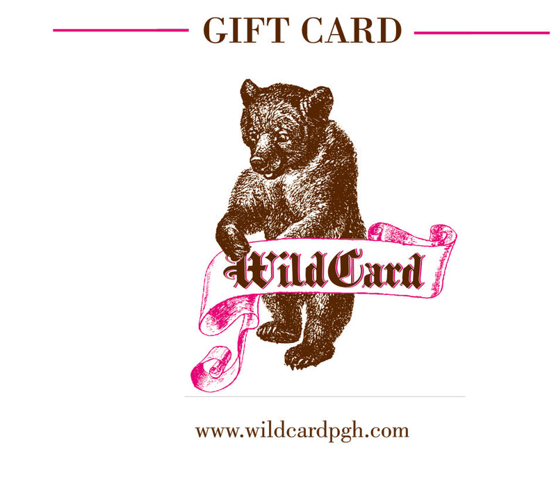 Wildcard Gift Card for Online Store