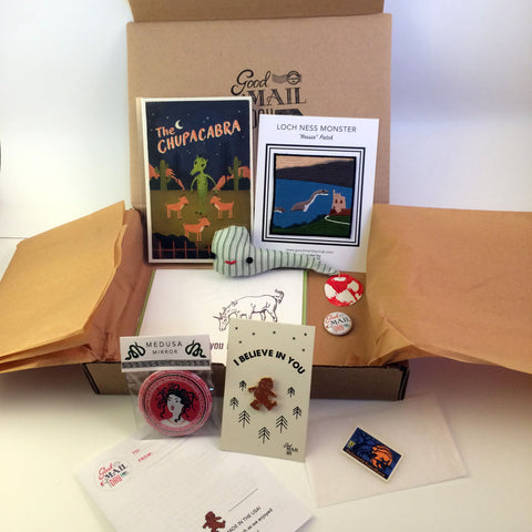 Good Mail Day Club - Mythical Creatures Box