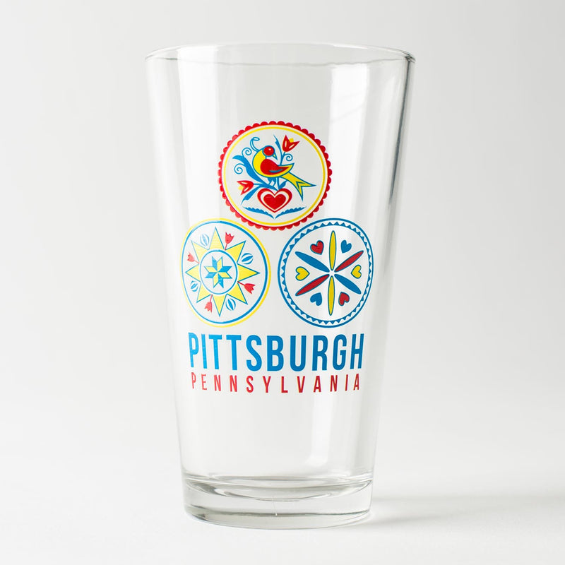 Pittsburgh Dutch Pint Glass