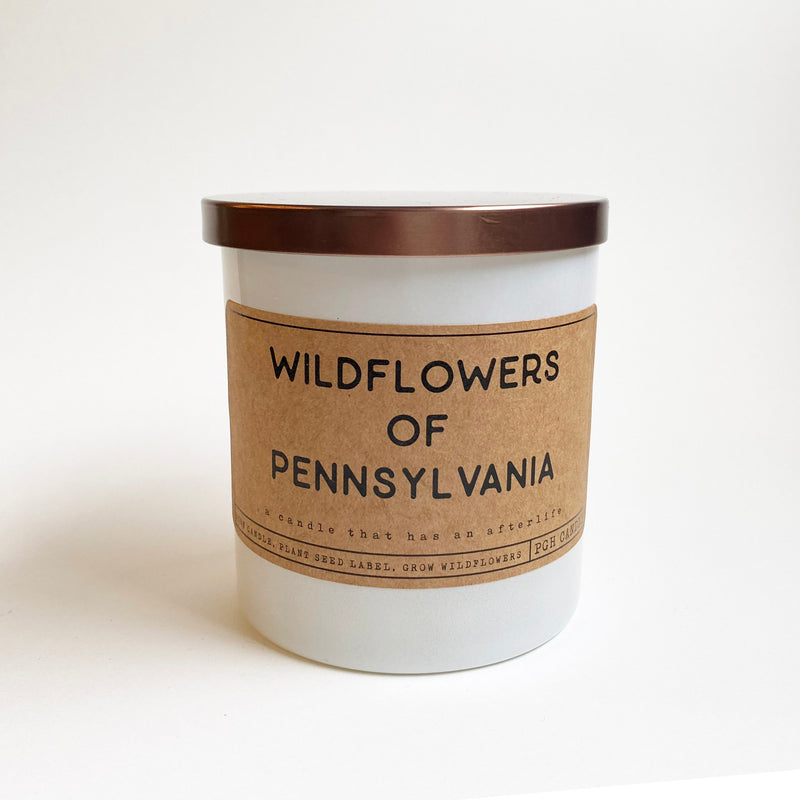 Wildflowers of Pennsylvania Candle