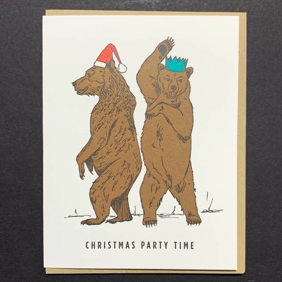 Christmas Grizzly Bears: Christmas Party