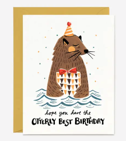 Ottery Best Birthday Card