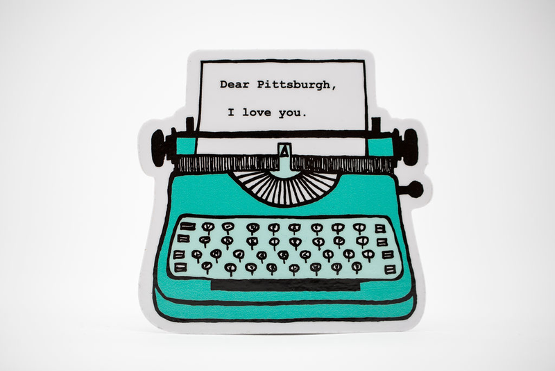 Dear Pittsburgh Vinyl Sticker