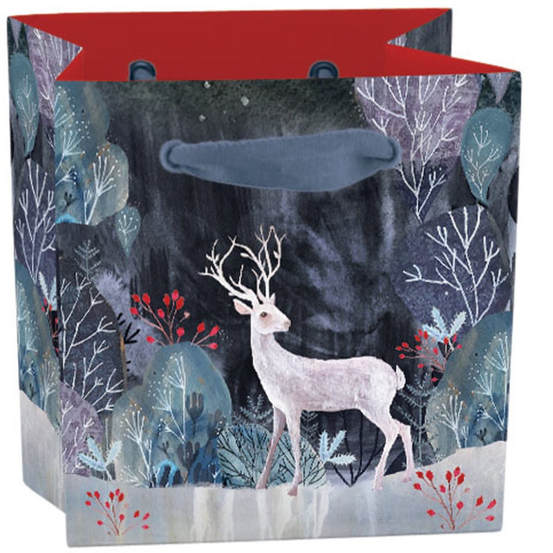 Silver Stag Gift Bag: Mini