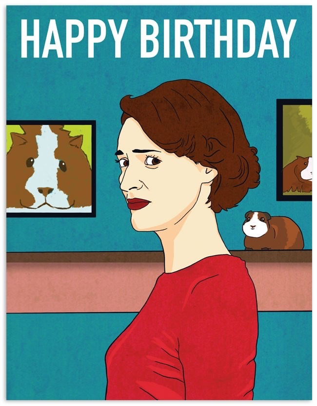 Fleabag Birthday Card