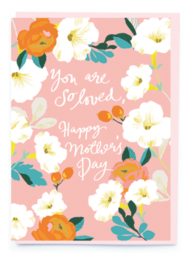So Loved Mother's Day Card