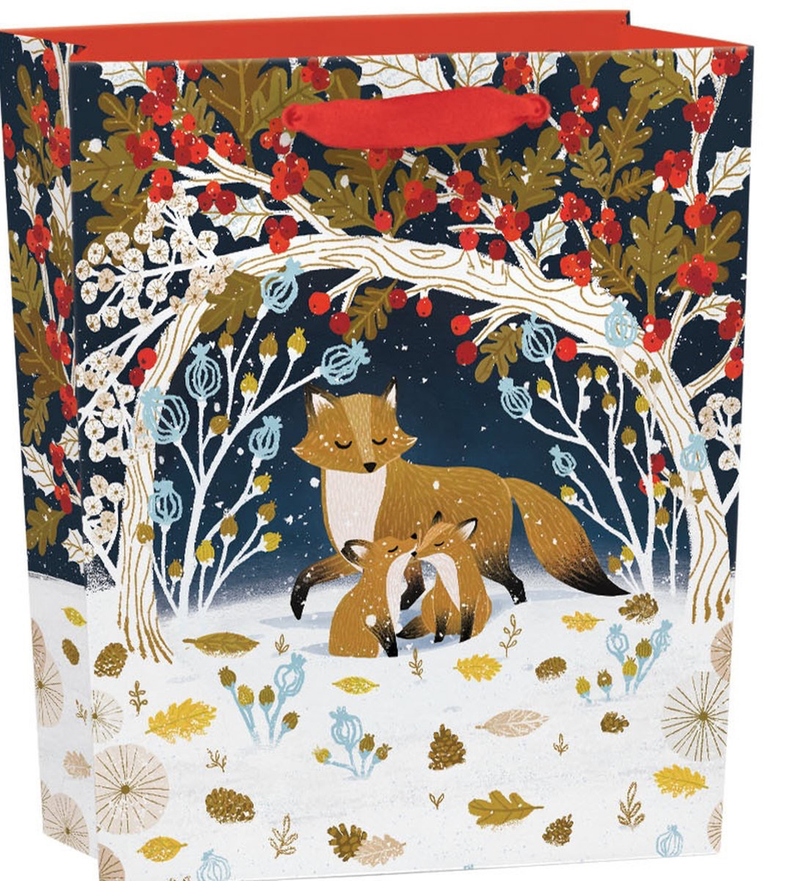 Frosty Forest Gift Bag: Small