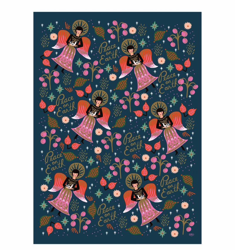Peace on Earth Wrap Paper Sheet (pick up only)