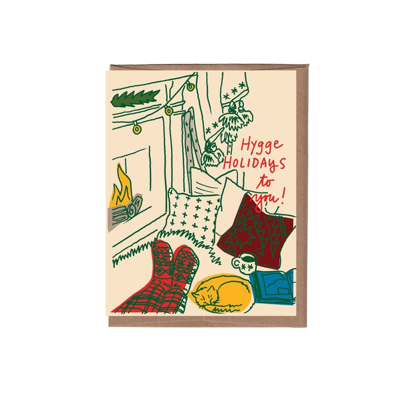 Hygge Holidays Card