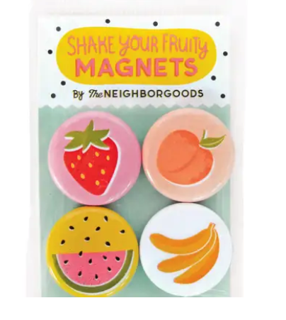 Shake Your Fruity Magnet Set
