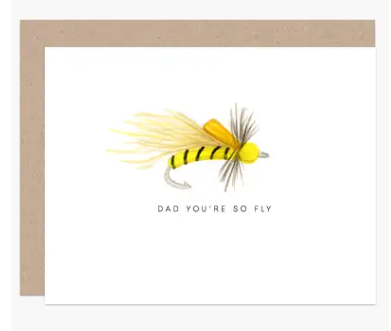 Fly Dad Father's Day Card