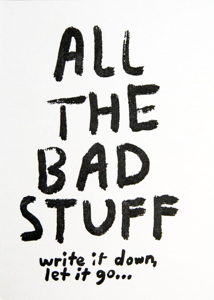 All The Bad Stuff Journal