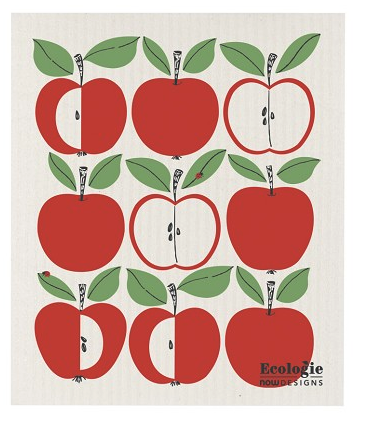 Apples Swedish Dishcloth