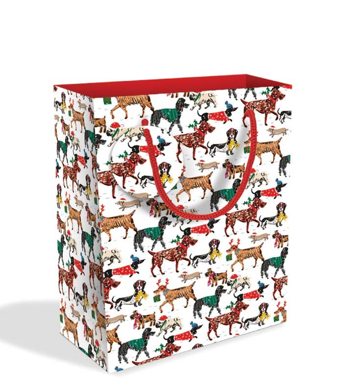 Winter Walkies Medium Gift Bag