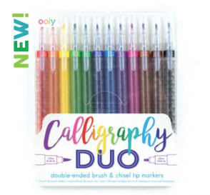 Calligraphy Duo Double Ended Markers