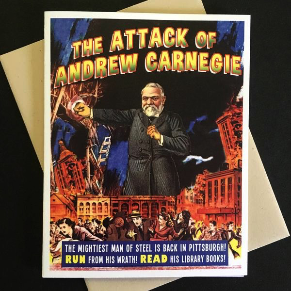 Attack of Andrew Carnegie Card