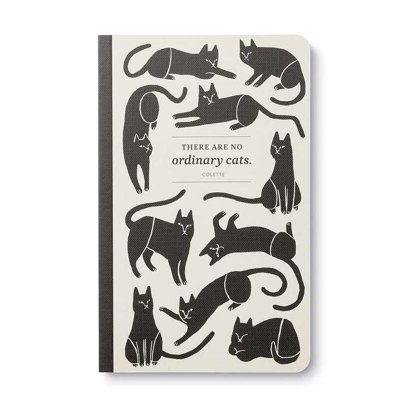There Are No Ordinary Cats Notebook