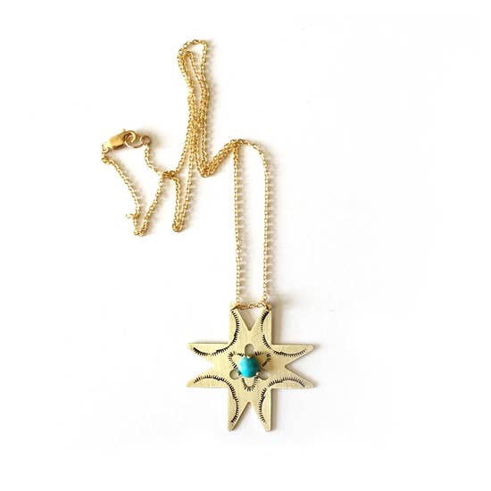 Morningstar Necklace (Turquoise)