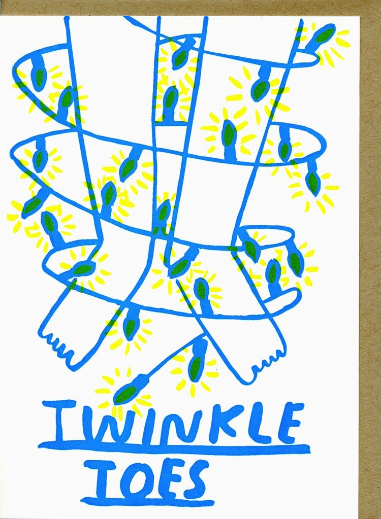 Twinkle Toes Holiday Card