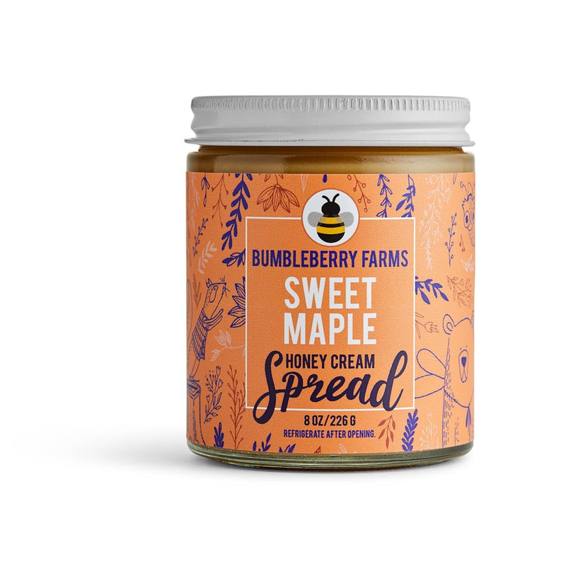 Honey Cream Spread (Sweet Maple)