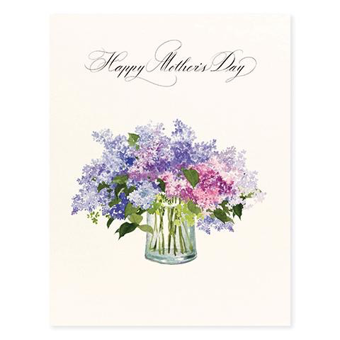Lilac Mothers Day Card