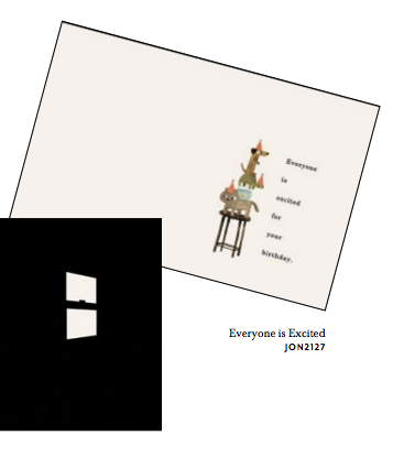 Everyone is Excited French Fold Birthday Card
