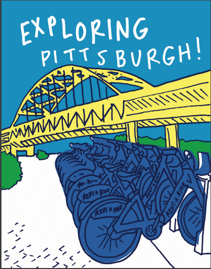 Exploring Pittsburgh! Postcard