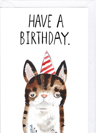 Have a Birthday Card
